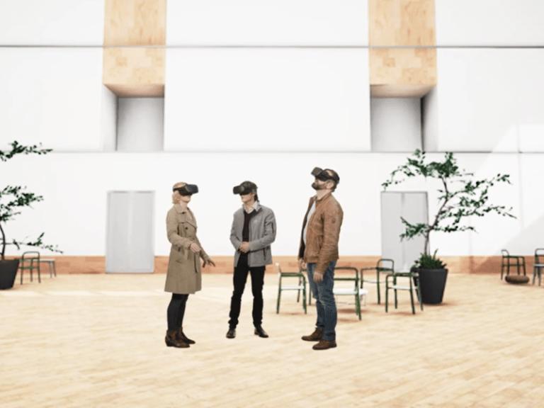 VR technologie