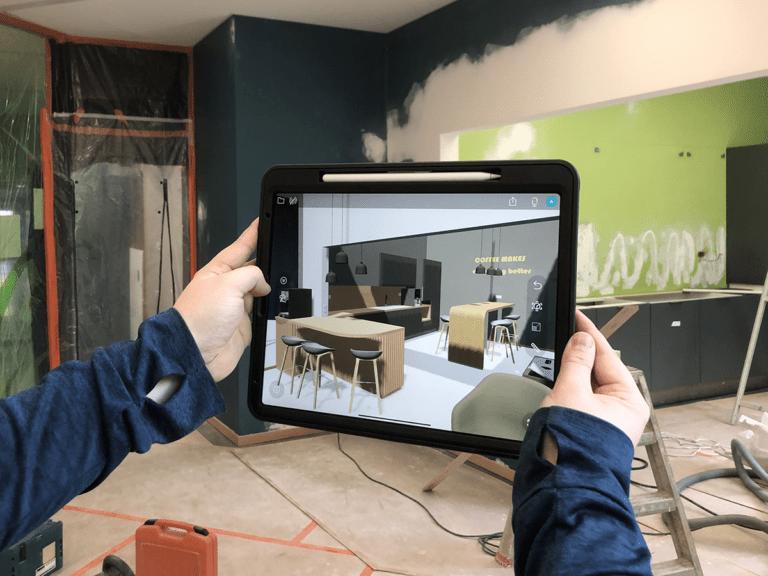 Augmented reality visualisatie demo